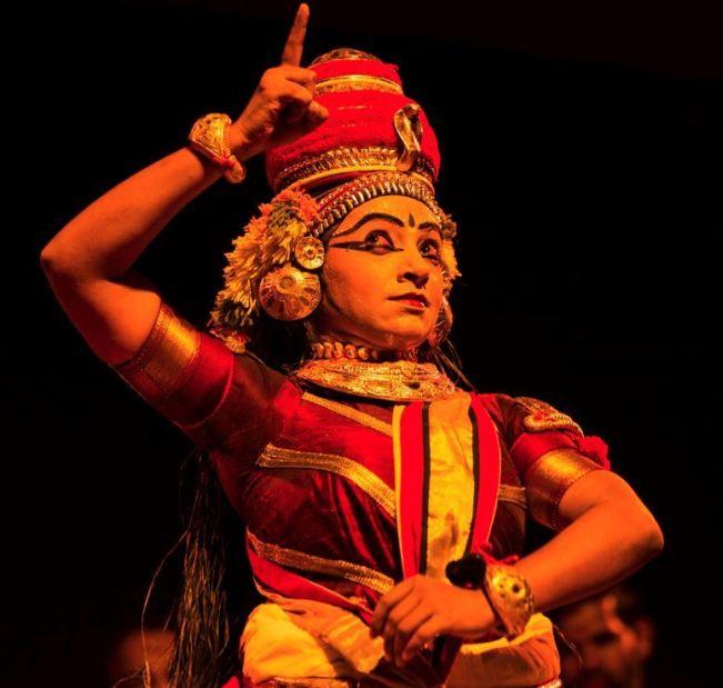 Nangiarkoothu performance by Kapila Venu
